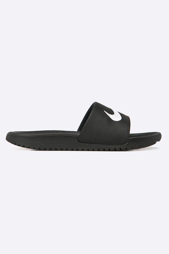 černá Nike Kids - Dětské pantofle KAWA SLIDE Dětský