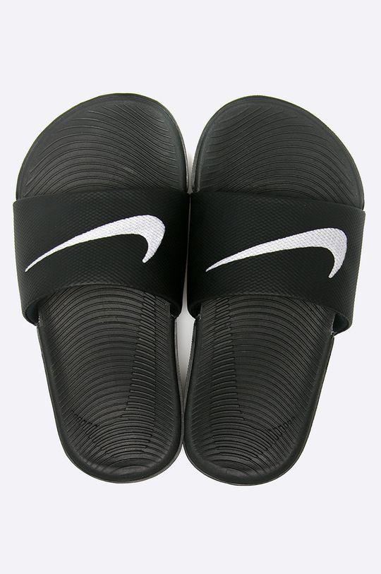 Nike Kids - Dětské pantofle KAWA SLIDE černá