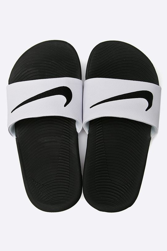 Nike Kids - Pantofle bílá