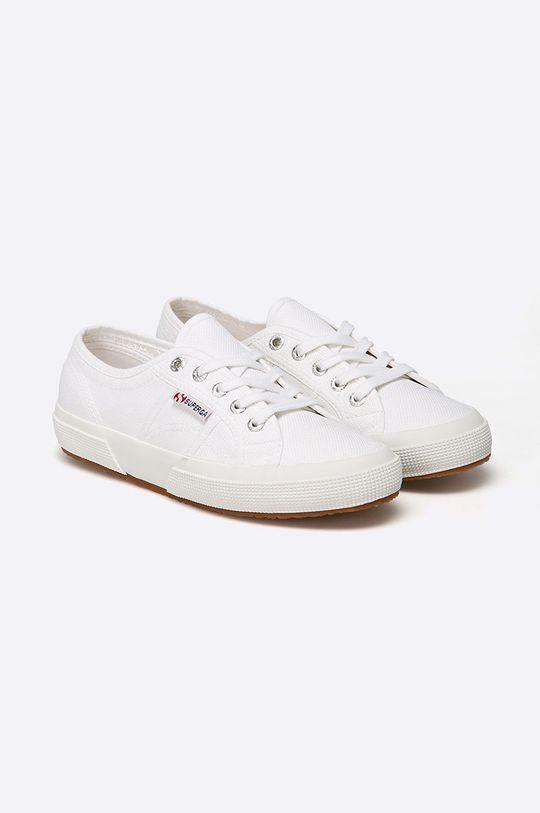 Superga - Tenisówki biały