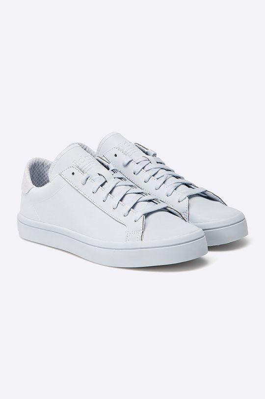 adidas Originals - Topánky CourtVantage Adicolor svetlosivá