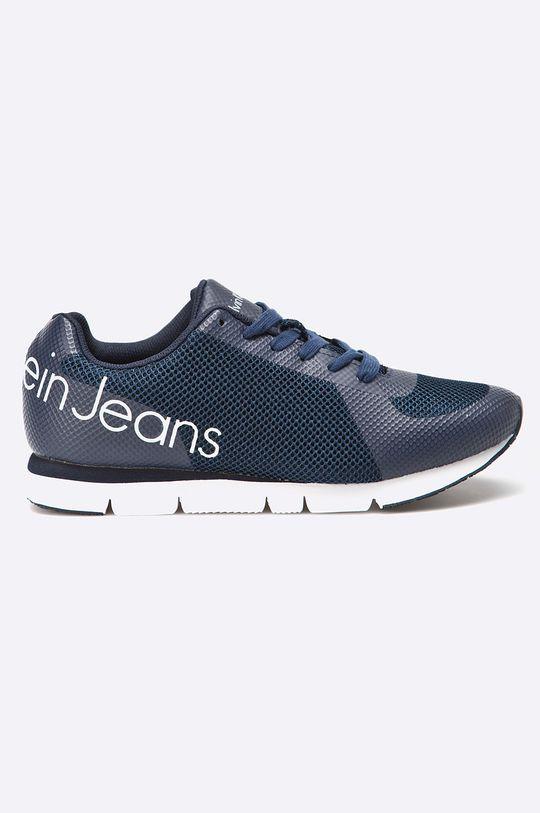 granatowy Calvin Klein Jeans - Buty Jack Mesh/Rubber Spread Męski