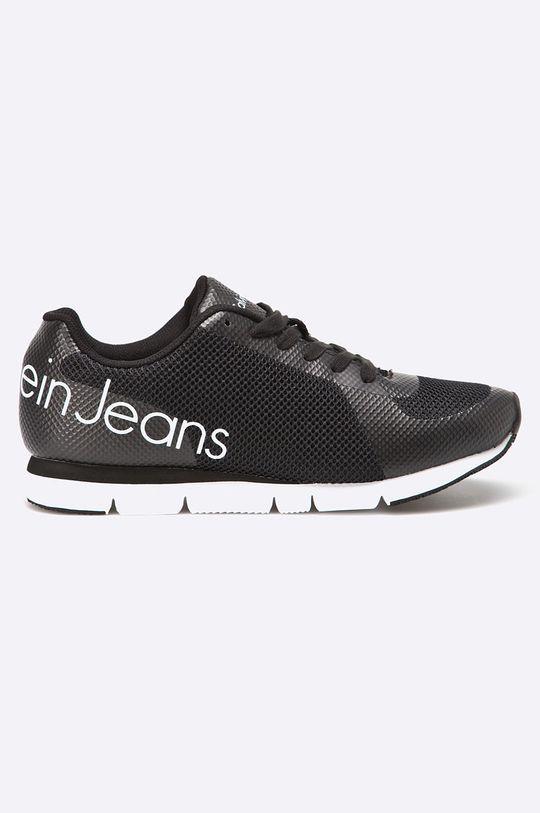 czarny Calvin Klein Jeans - Buty Jack Mesh/Rubber Spread Męski