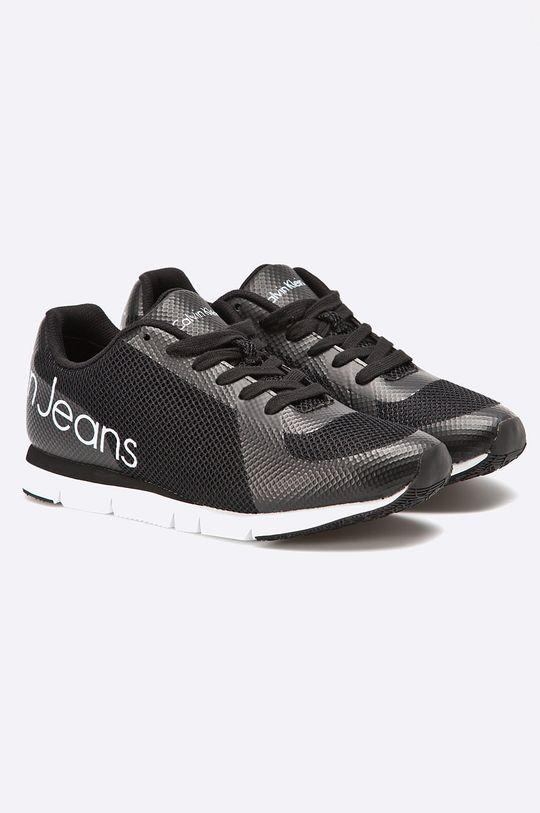Calvin Klein Jeans - Buty Jack Mesh/Rubber Spread czarny
