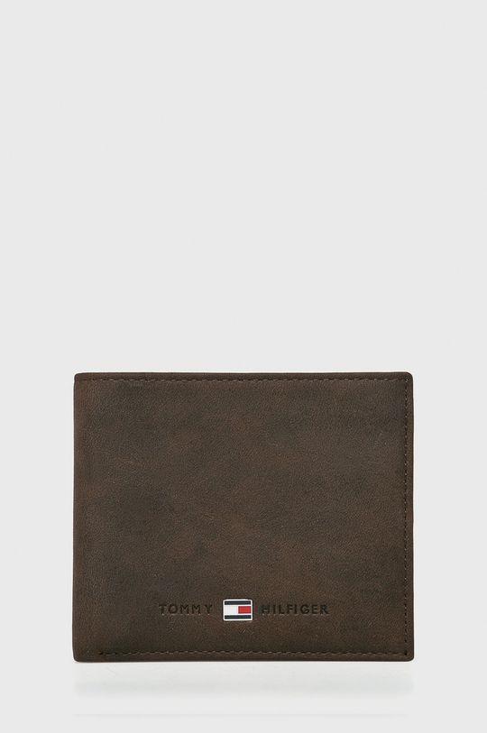 maro Tommy Hilfiger - Portofel Johnson Mini De bărbați