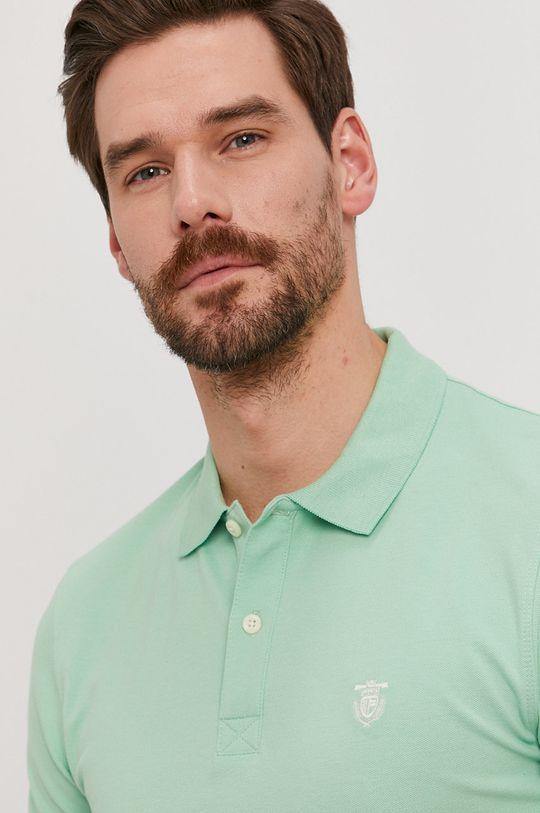 světle zelená Selected - Polo tričko