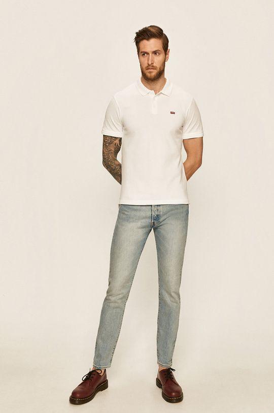 Levi's - Polo Tees biały