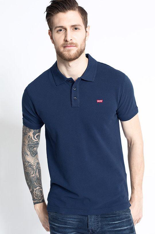 tmavomodrá Levi's - Pánske polo tričko Pánsky