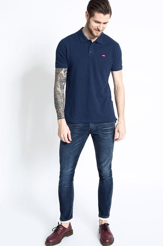 Levi's - Pánske polo tričko tmavomodrá