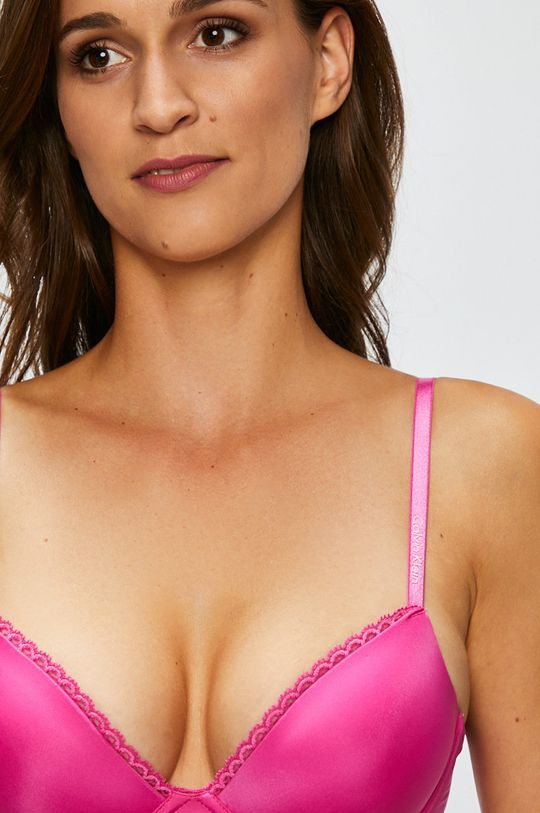 fuchsiová Calvin Klein Underwear - Podprsenka