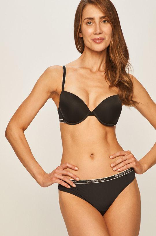 Emporio Armani Underwear - Sutien Material 1: 16% Elastan, 84% Poliamida Material 2: 15% Elastan, 65% Poliamida, 20% Poliester  Material 3: 100% Poliester