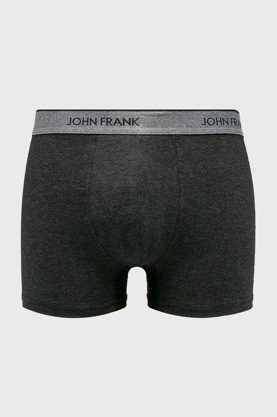svetlosivá John Frank - Boxerky Pánsky