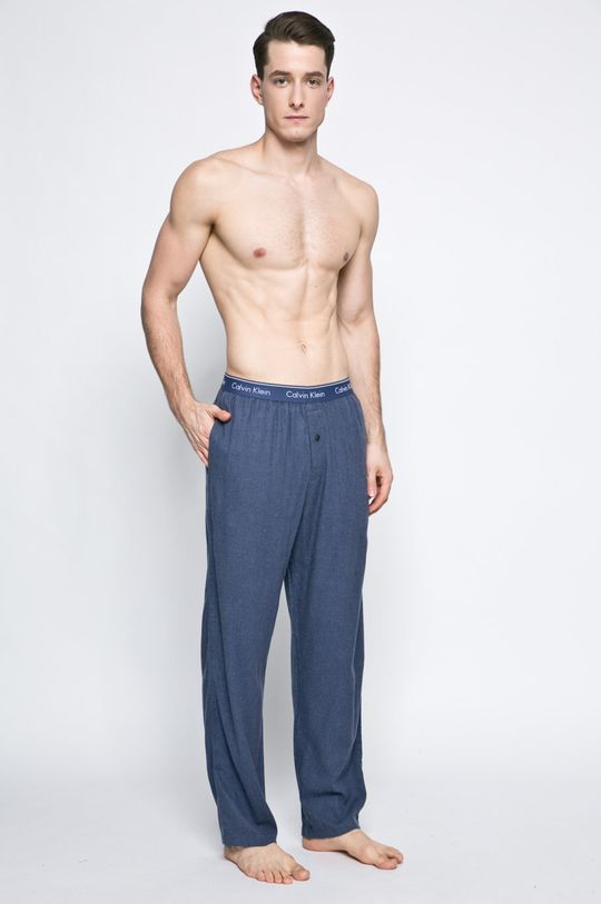 Calvin Klein Underwear - Pyžamové kalhoty modrá