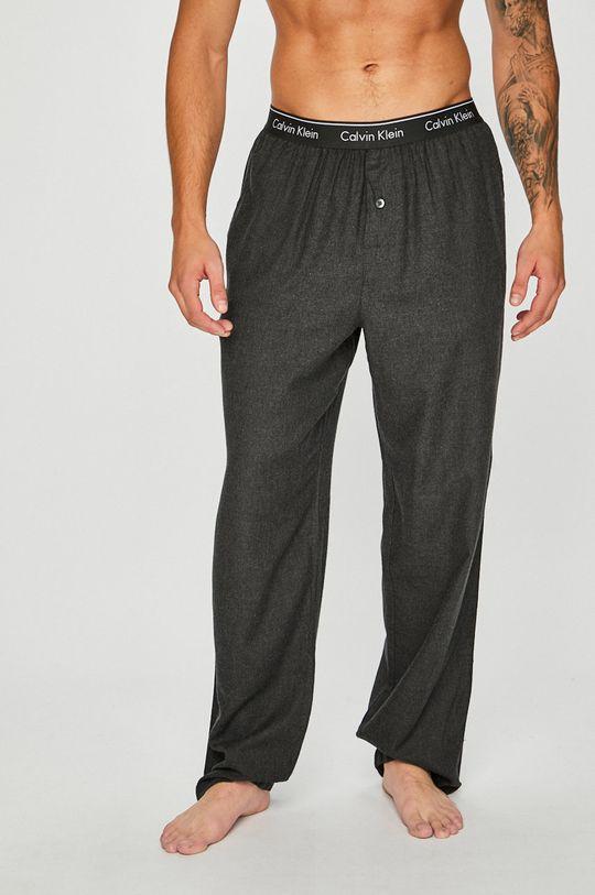 šedá Calvin Klein Underwear - Pyžamové kalhoty Pánský