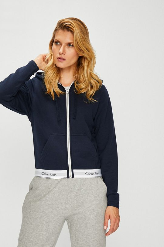 granatowy Calvin Klein Jeans - Bluza Damski