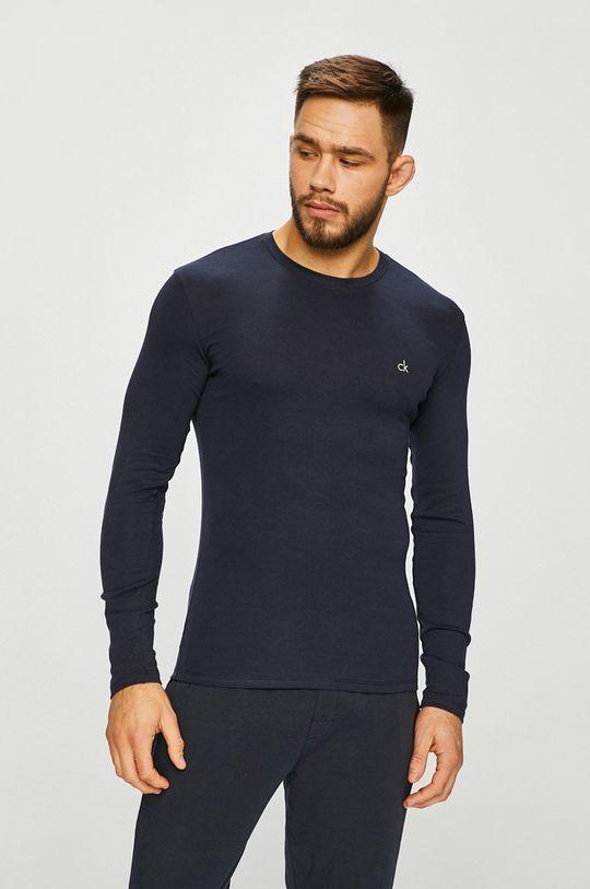 námořnická modř Calvin Klein Underwear - Tričko s dlouhým rukávem Pánský