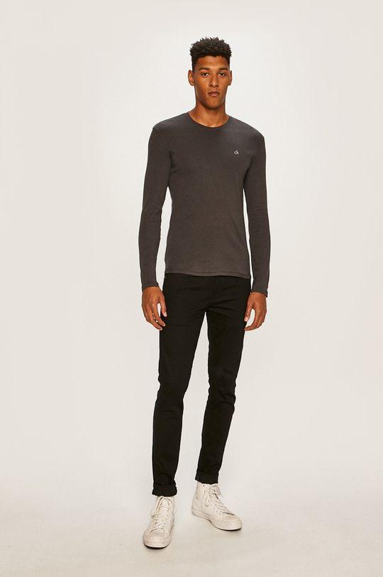 Calvin Klein Underwear - Tričko s dlouhým rukávem šedá