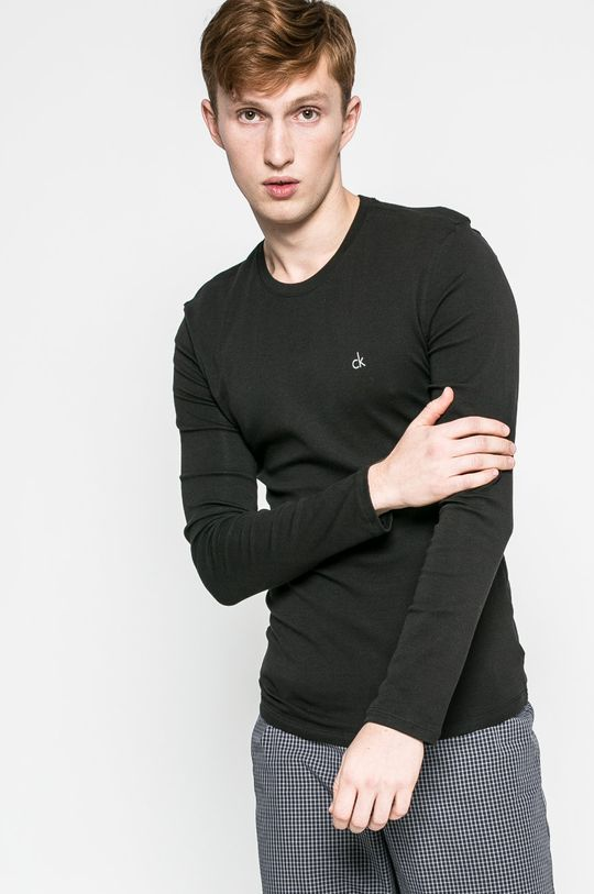 černá Calvin Klein Underwear - Tričko s dlouhým rukávem Pánský