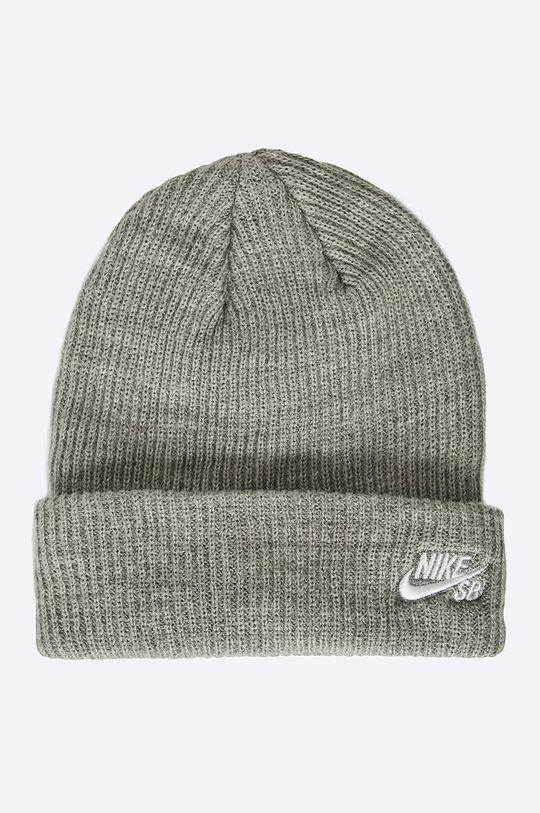 šedá Nike Sportswear - Čepice Pánský