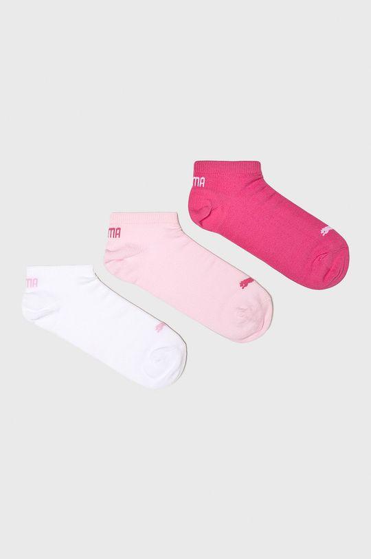 růžová Puma - Ponožky (3-pak) Dámský