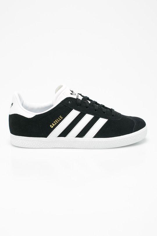 negru adidas Originals - Pantofi copii Gazelle De băieți