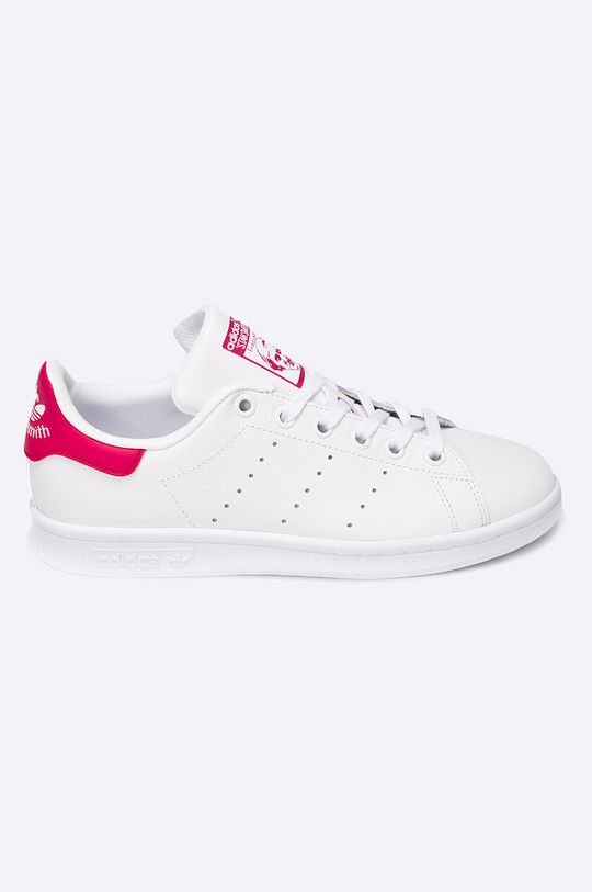 alb adidas Originals - Pantofi copii De fete
