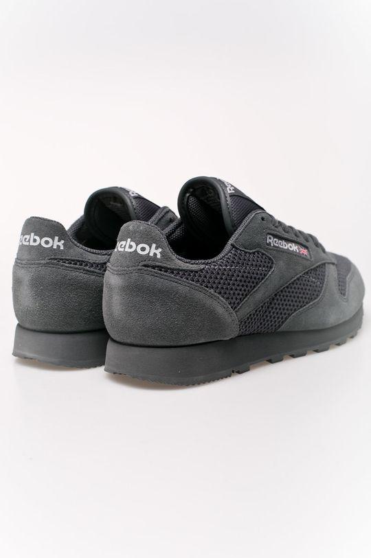 šedá Reebok - Boty Cl Leather Knit