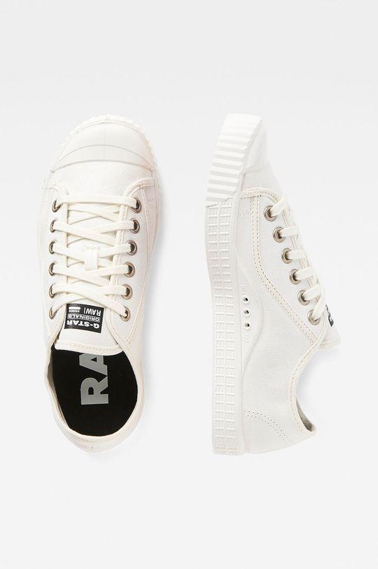 G-Star Raw - Tenisówki biały