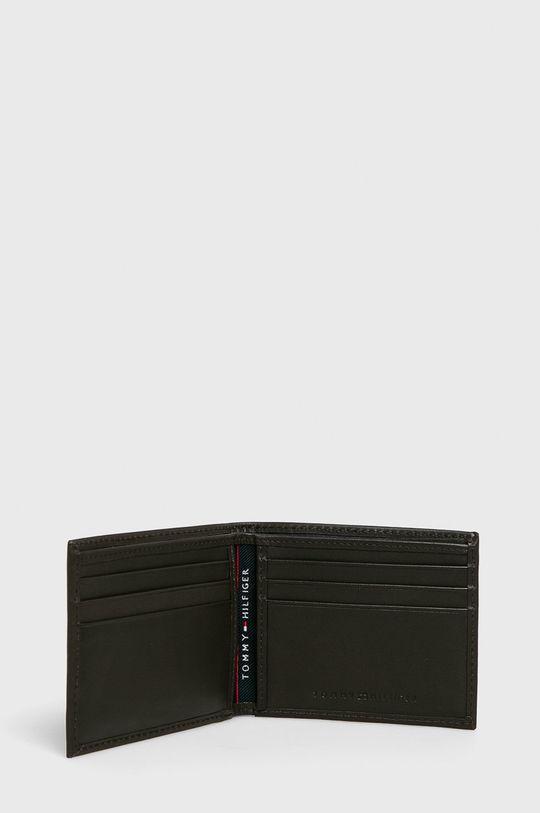 Tommy Hilfiger - Kožená peněženka hnědá