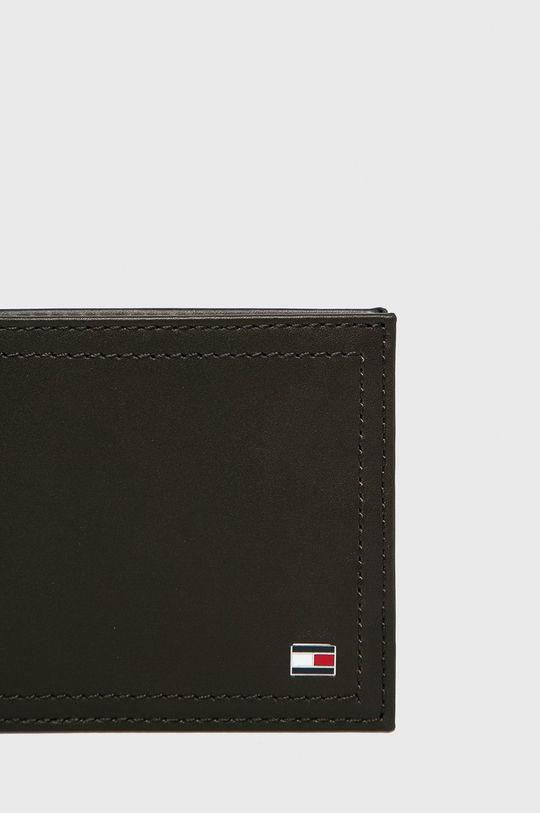 hnědá Tommy Hilfiger - Kožená peněženka