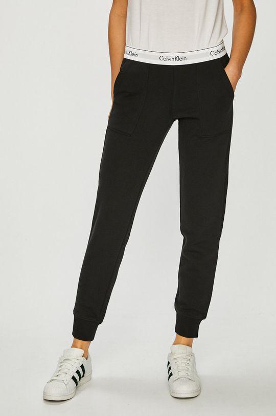 černá Calvin Klein Jeans - Kalhoty Dámský