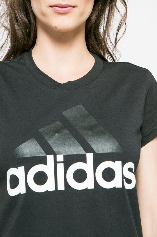 черен adidas Performance - Топ