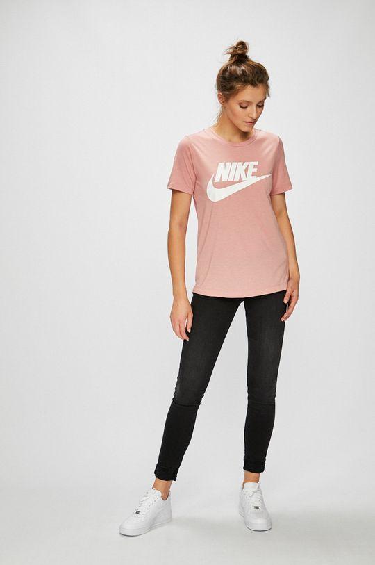 Nike Sportswear - Топ яскраво-рожевий