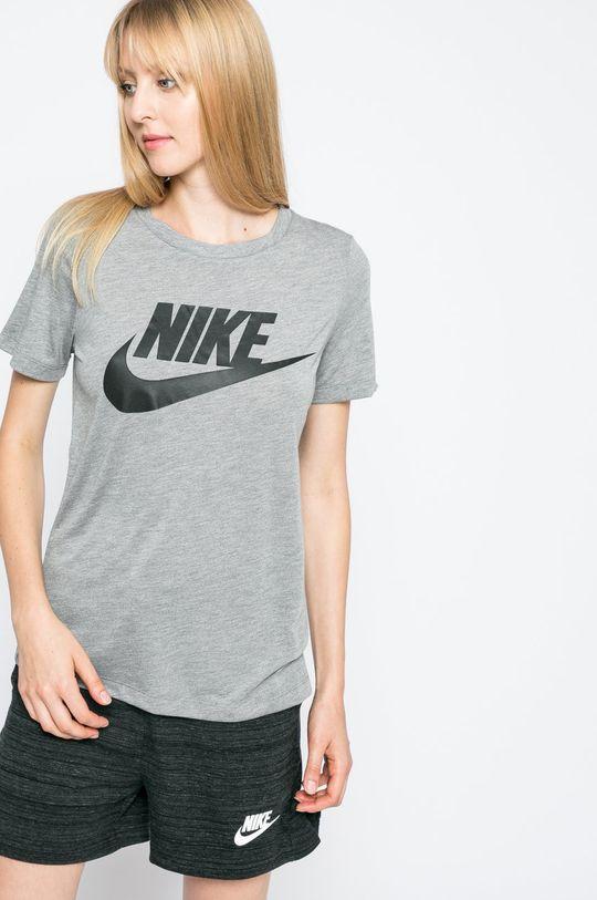 сірий Nike Sportswear - Топ Жіночий
