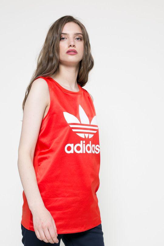 червен adidas Originals - Топ