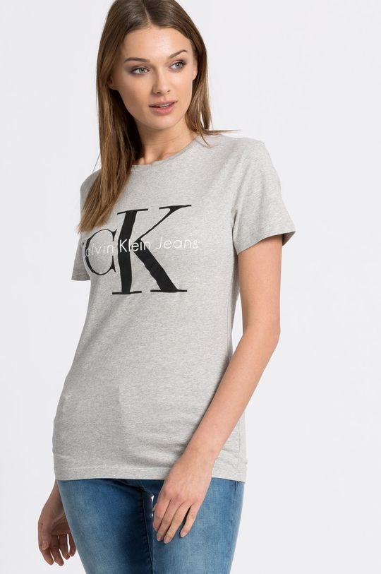 світло-сірий Calvin Klein Jeans - Топ Жіночий