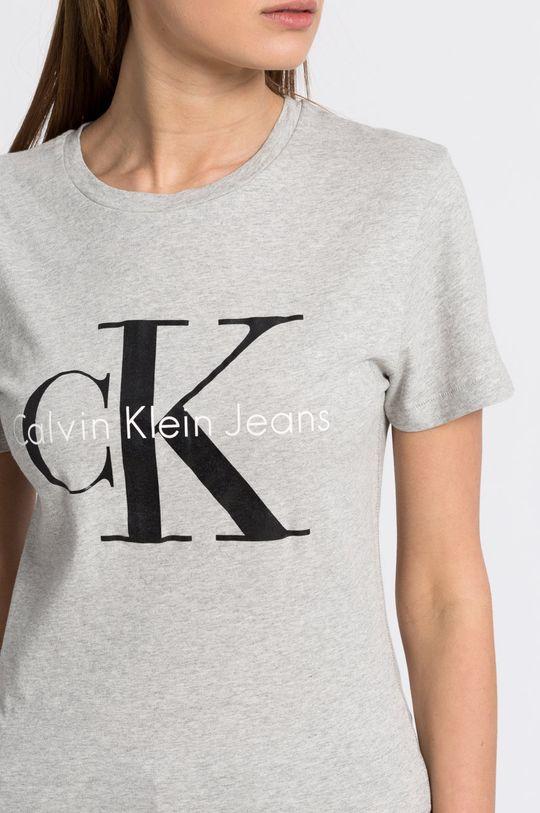 світло-сірий Calvin Klein Jeans - Топ