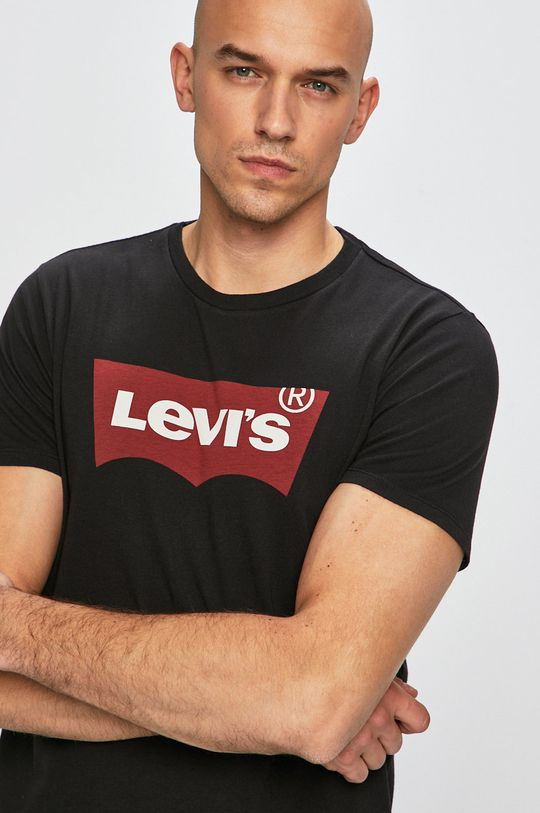 czarny Levi's - T-shirt