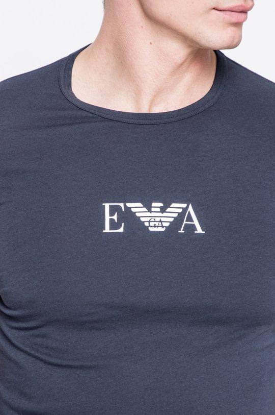 niebieski Emporio Armani - T-shirt (2-pack)