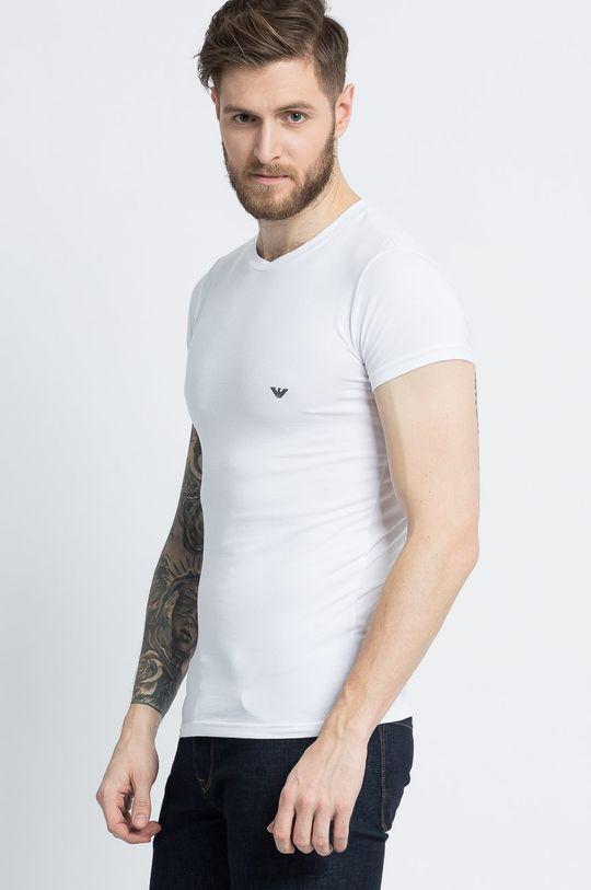 biały Emporio Armani Underwear - T-shirt Męski