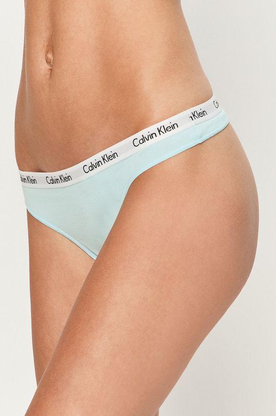 světle modrá Calvin Klein Underwear - tanga Dámský