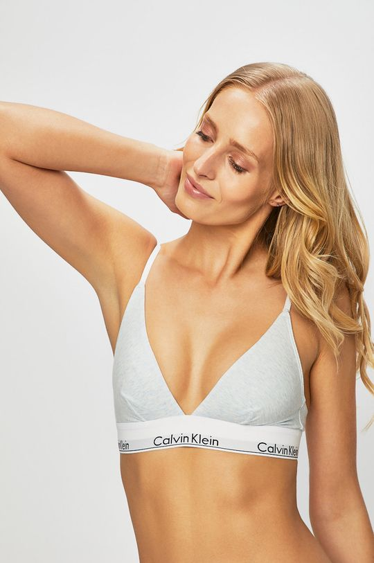 světle modrá Calvin Klein Underwear - Podprsenka Dámský