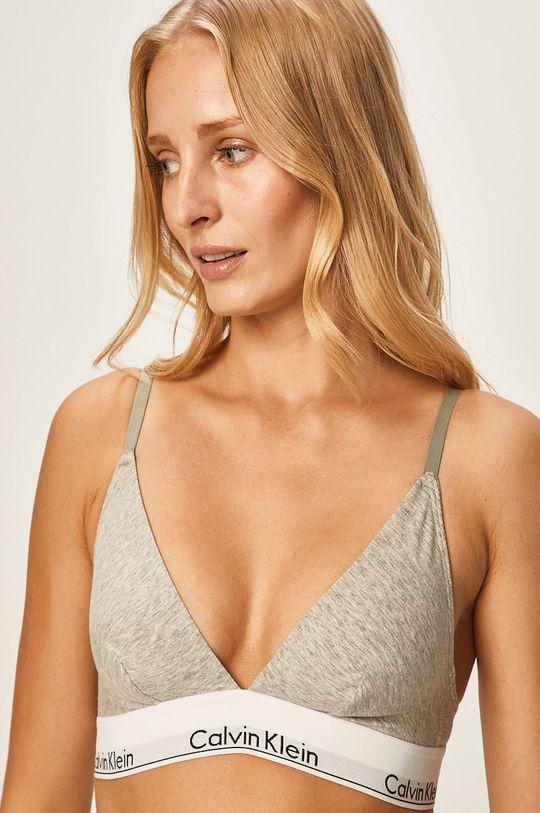 světle šedá Calvin Klein Underwear - Podprsenka