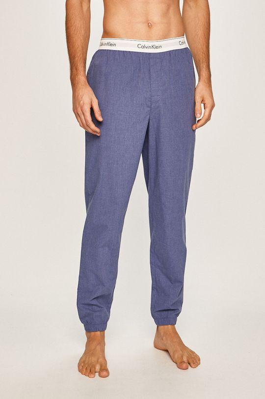 modrá Calvin Klein Underwear - Pyžamové nohavice Pánsky