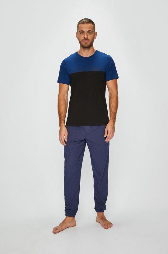 Calvin Klein Underwear - Pyžamové kalhoty námořnická modř