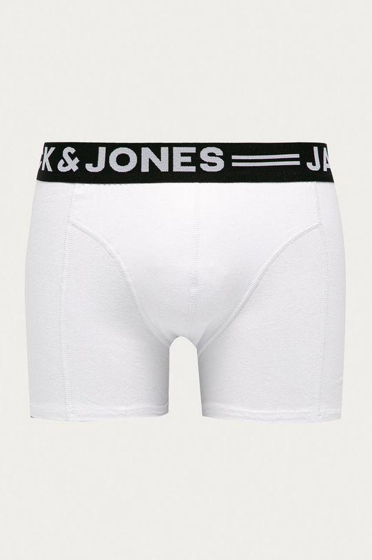 biały Jack & Jones - Bokserki (3-pack) Męski