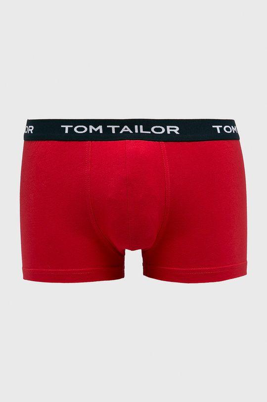 ostry czerwony Tom Tailor Denim - Bokserki (3-pack) Męski