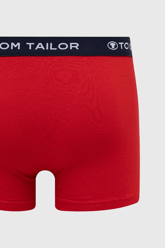 czerwony Tom Tailor Denim - Bokserki (3-pack)