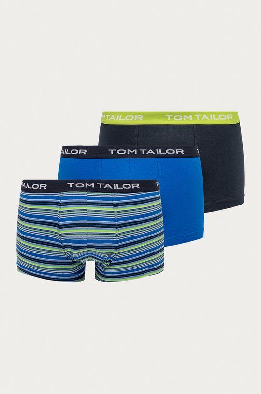 modrá Tom Tailor Denim - Boxerky (3-pak) Pánsky