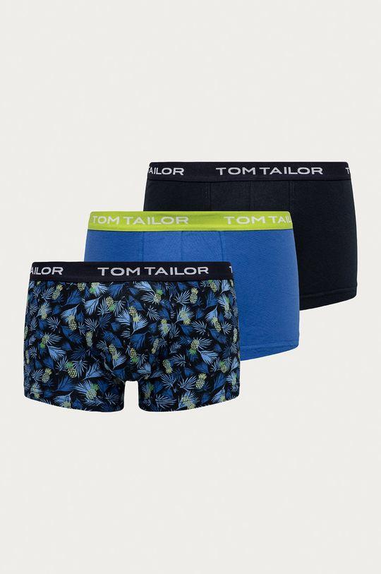 niebieski Tom Tailor Denim - Bokserki (3-pack) Męski